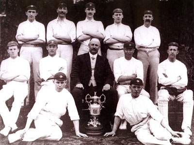 Colne Cricket Club, 1910