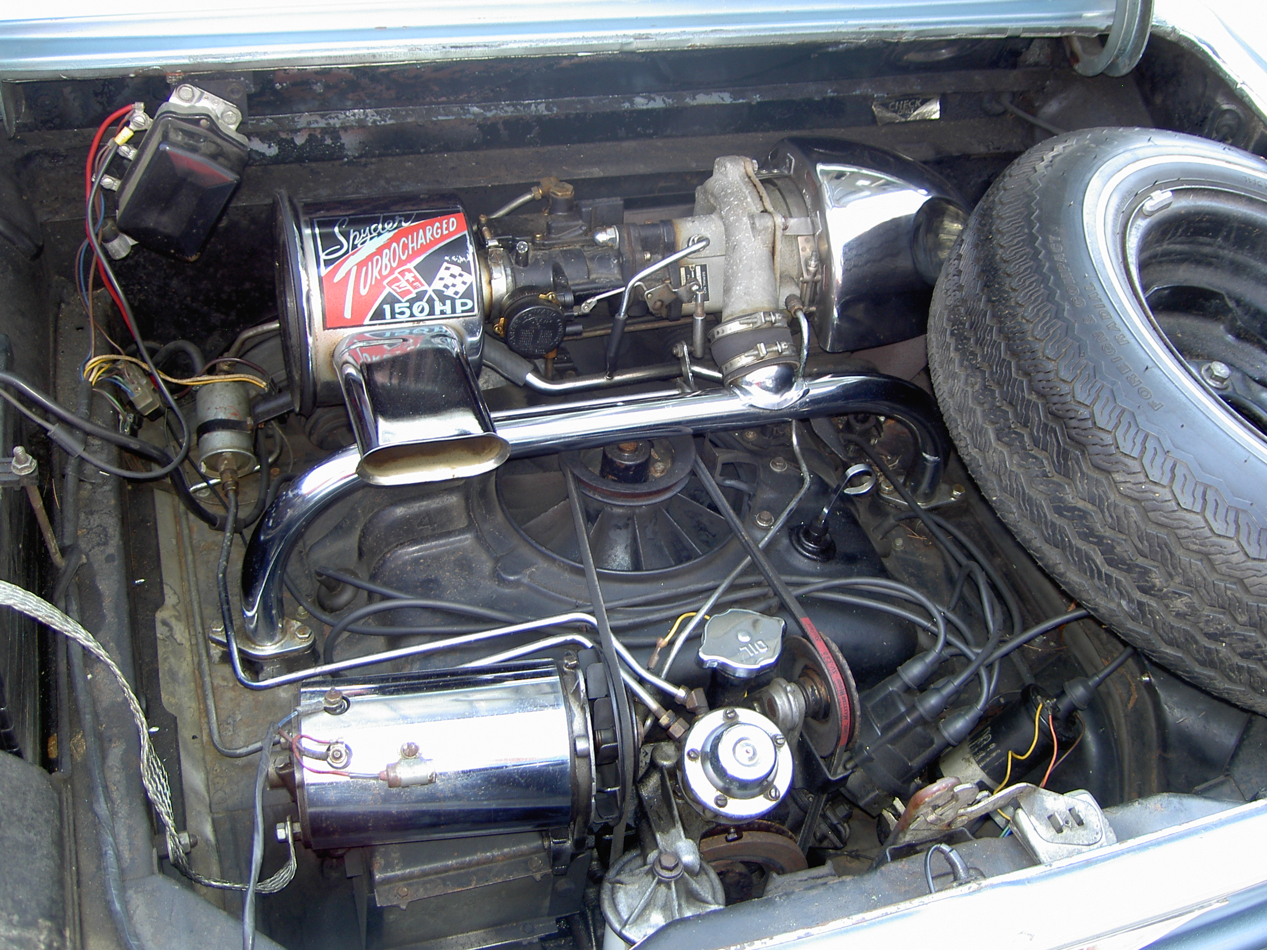 File corvair turbo engine on type 1 vw coil wiring diagram