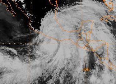 Hurricane Cosme (1989) - Wikipedia