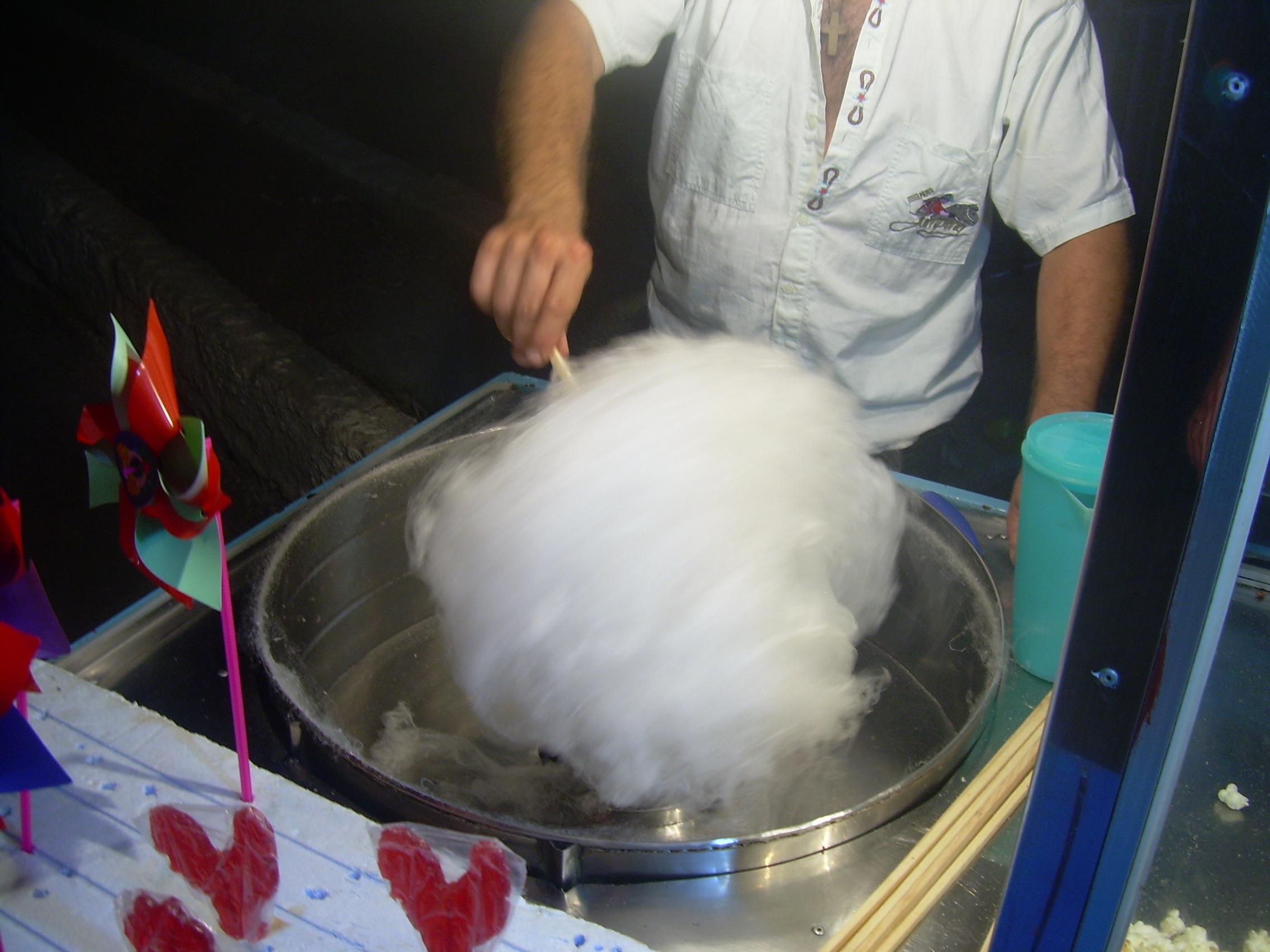 Сахарная вата своими руками фото