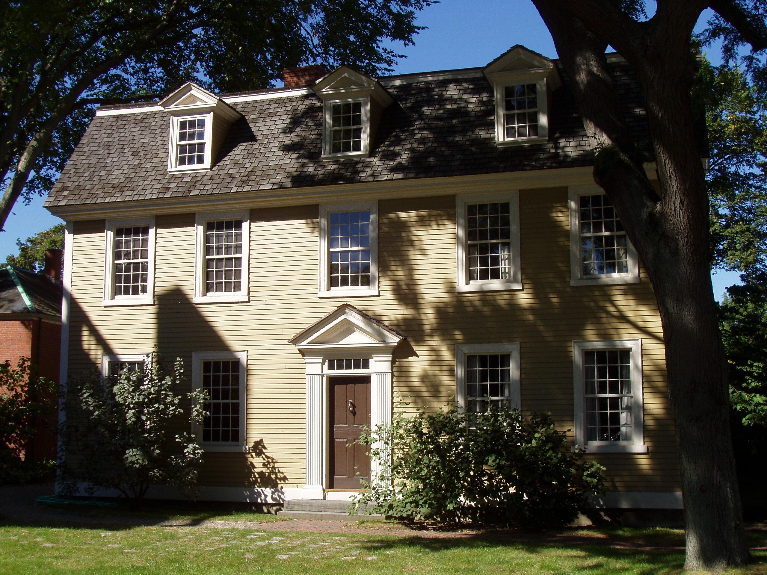 File crowninshield bentley house salem massachusetts for Salem house