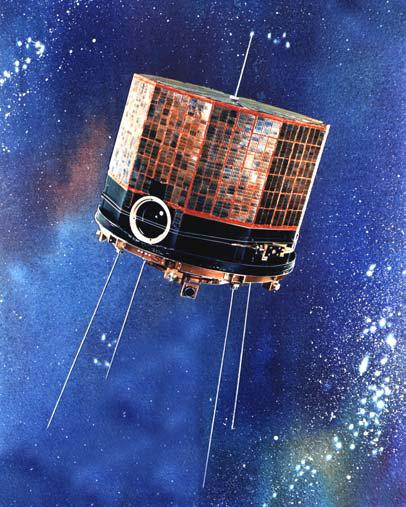 DMSP Block-1 Satellit. Quelle: NASA