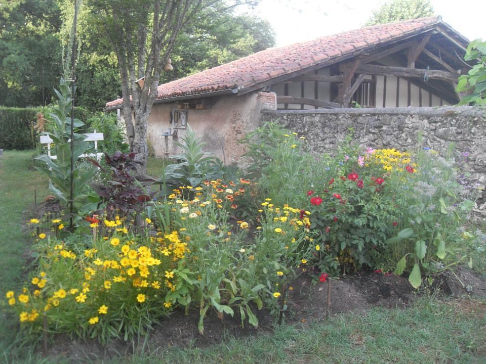 file des fleurs l 39 ombre des murs jardin partag de b lis landes juillet. Black Bedroom Furniture Sets. Home Design Ideas