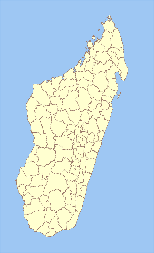 Districts De Madagascar Wikipedia