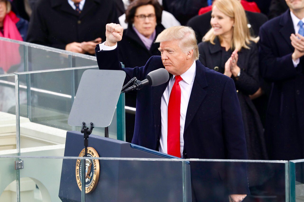 Donald Trump speaks at the inauguration.jpg