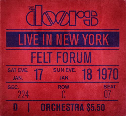 Live In New York Doors Live Album Wikipedia