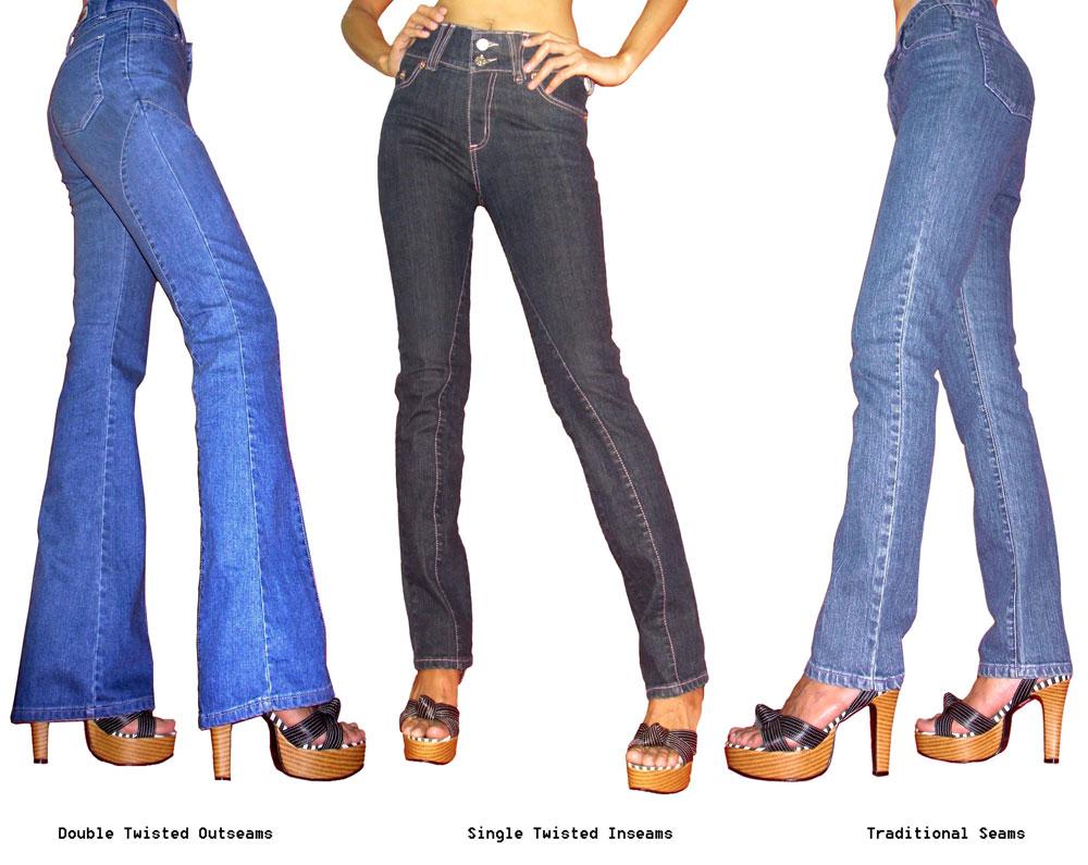 L'apparence du jeans a été modifiée à n'en plus finir