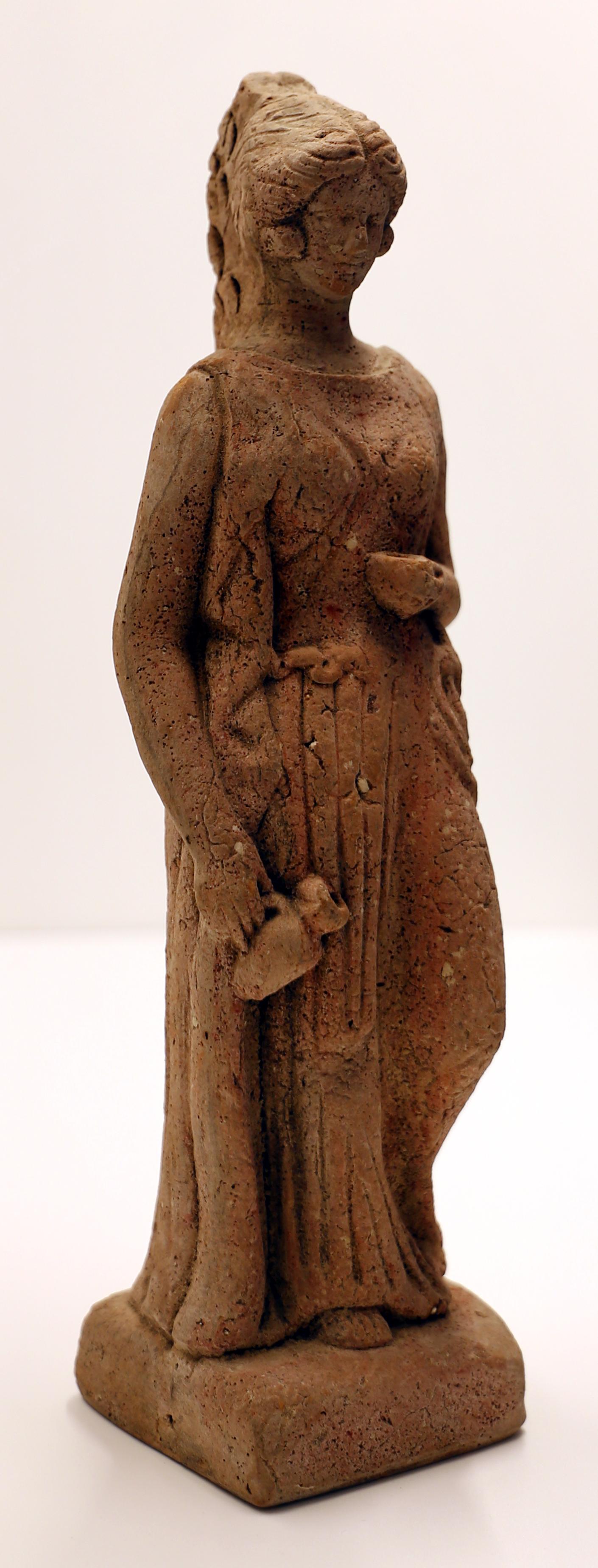 File:Epoca greca o romana repubblicana, statuetta votiva ...
