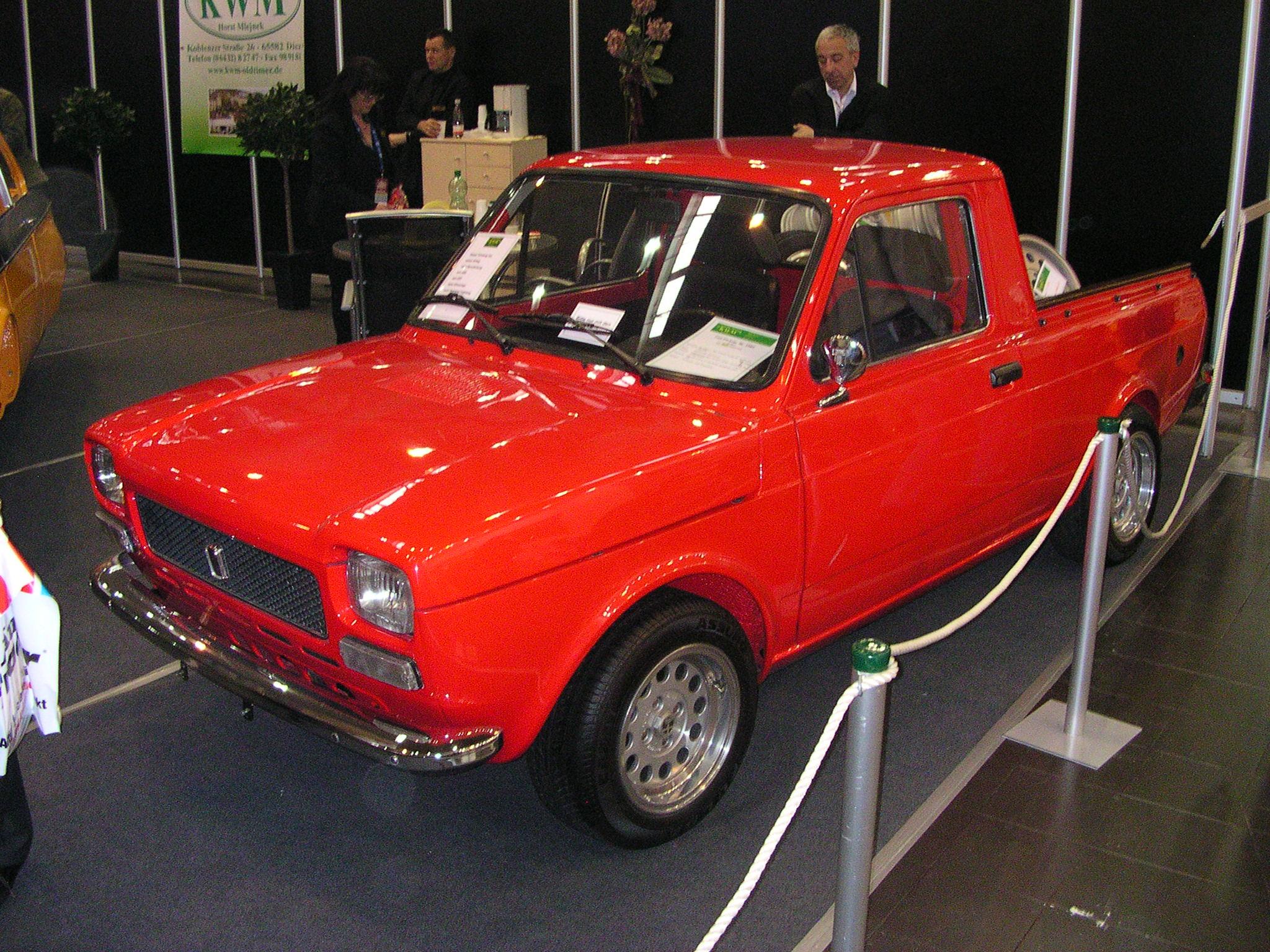 File Fiat 127 Pickup Vr Jpg Wikimedia Commons