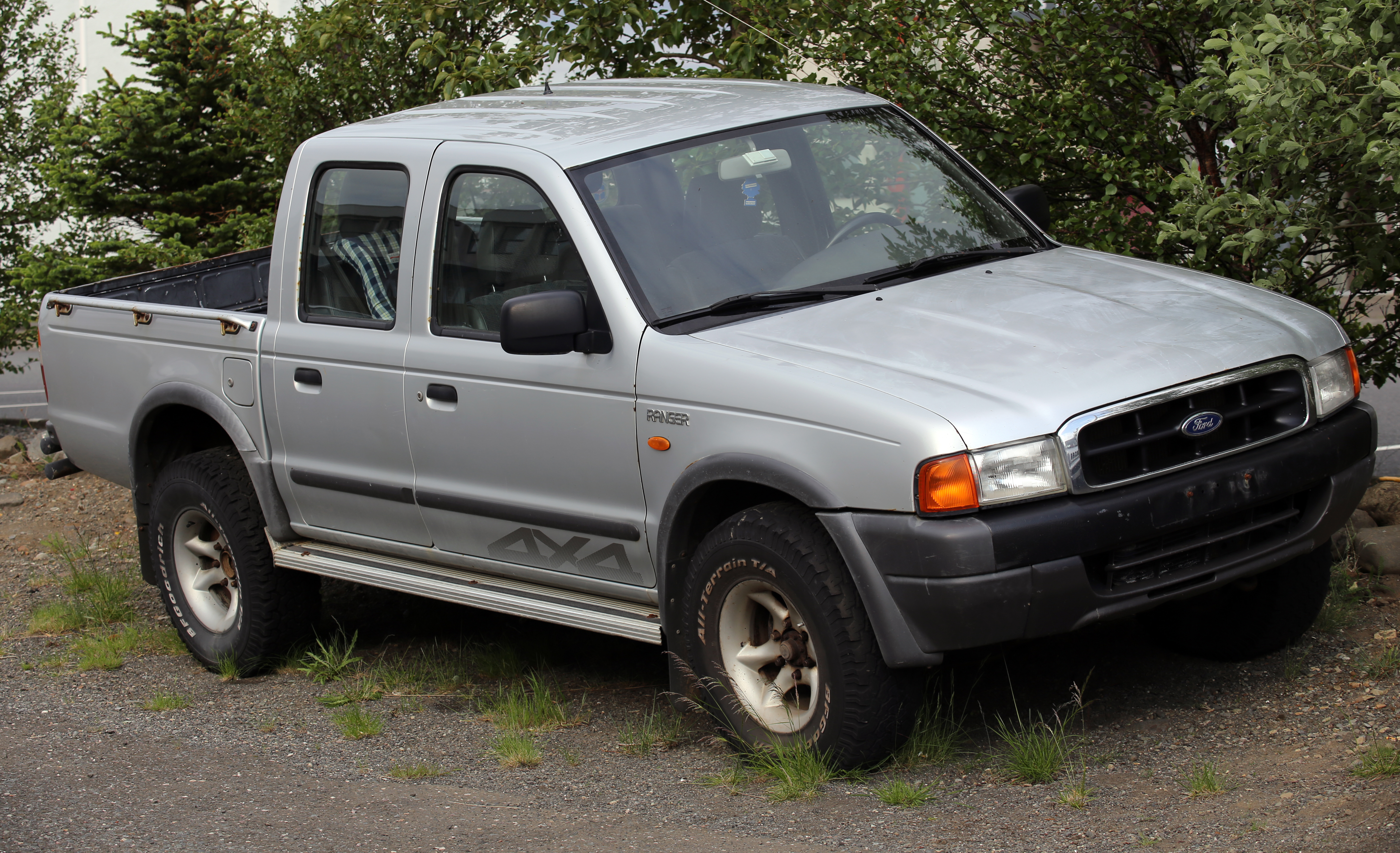 Ford Ranger Modified >> File:Ford Ranger Double Cab 4x4, first generation.jpg - Wikimedia Commons