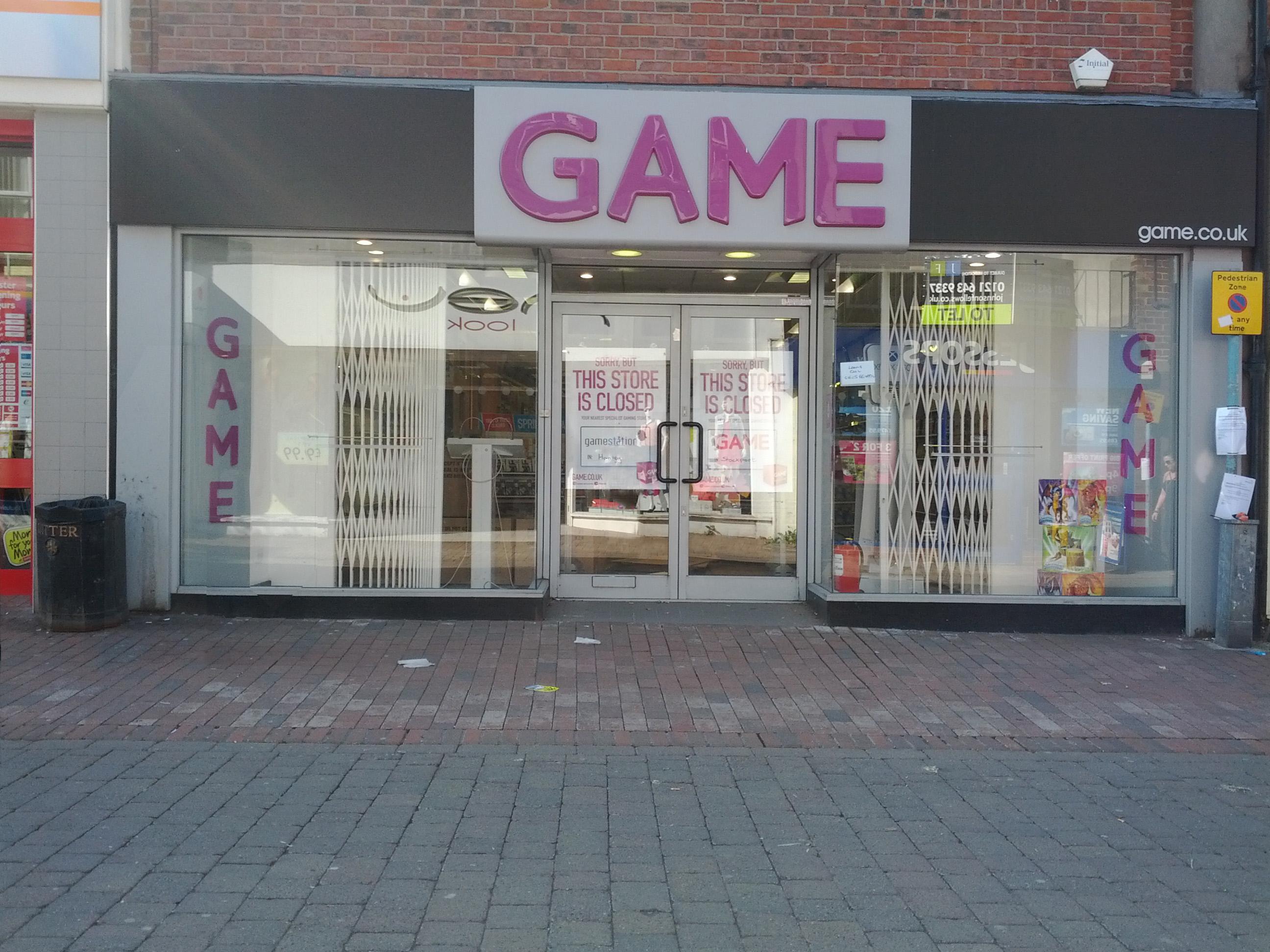 Closed online shop