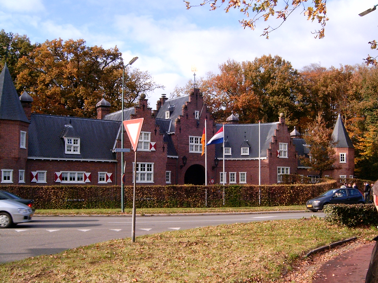 The gatehouse of the castle of Doorn