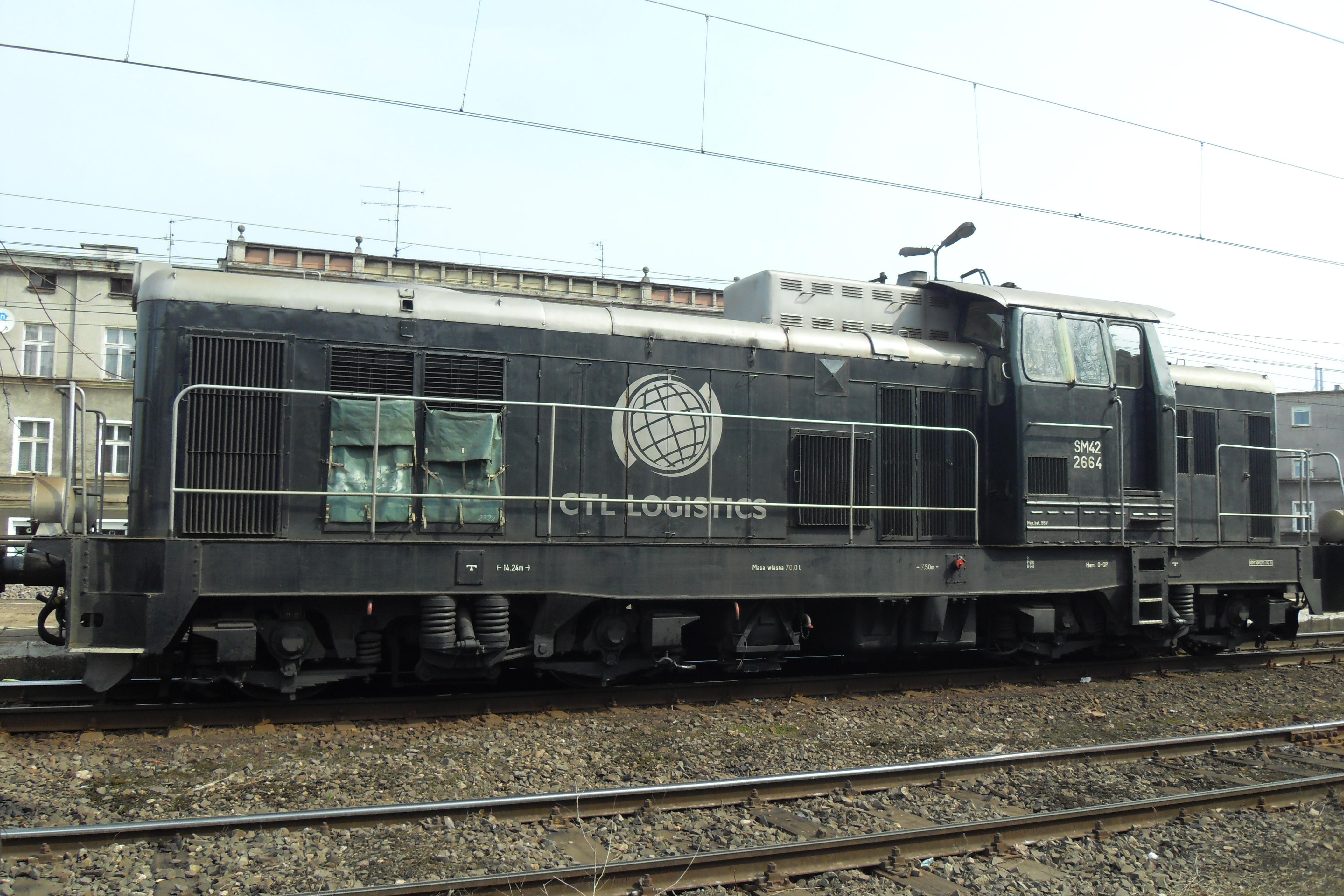 File:Gdańsk Wrzeszcz SM42–2664 CTL LOGISTICS.JPG