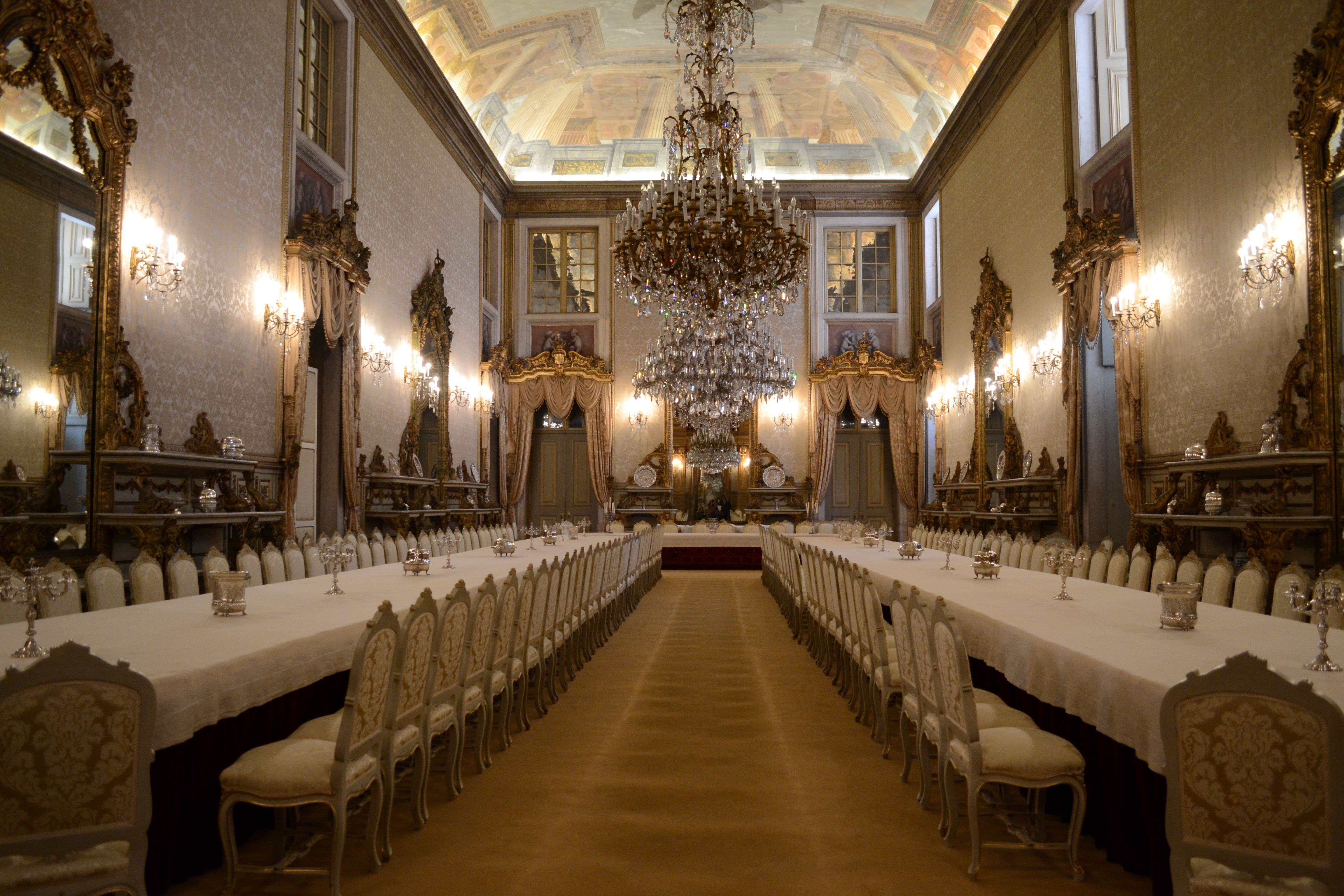 File Grand Dining Room At Ajuda National Palace In Belem