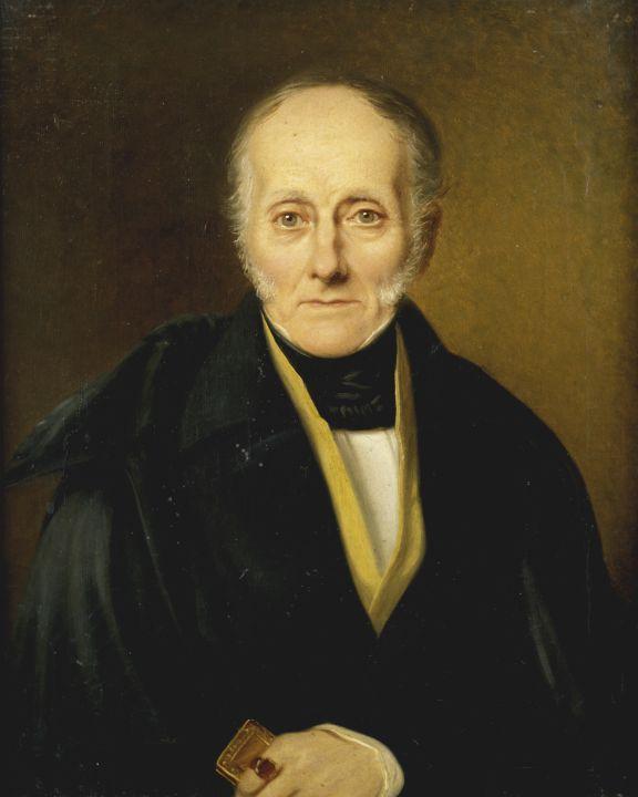 Gustav von Ewers in 1838. Portrait by [[Karl August Senff