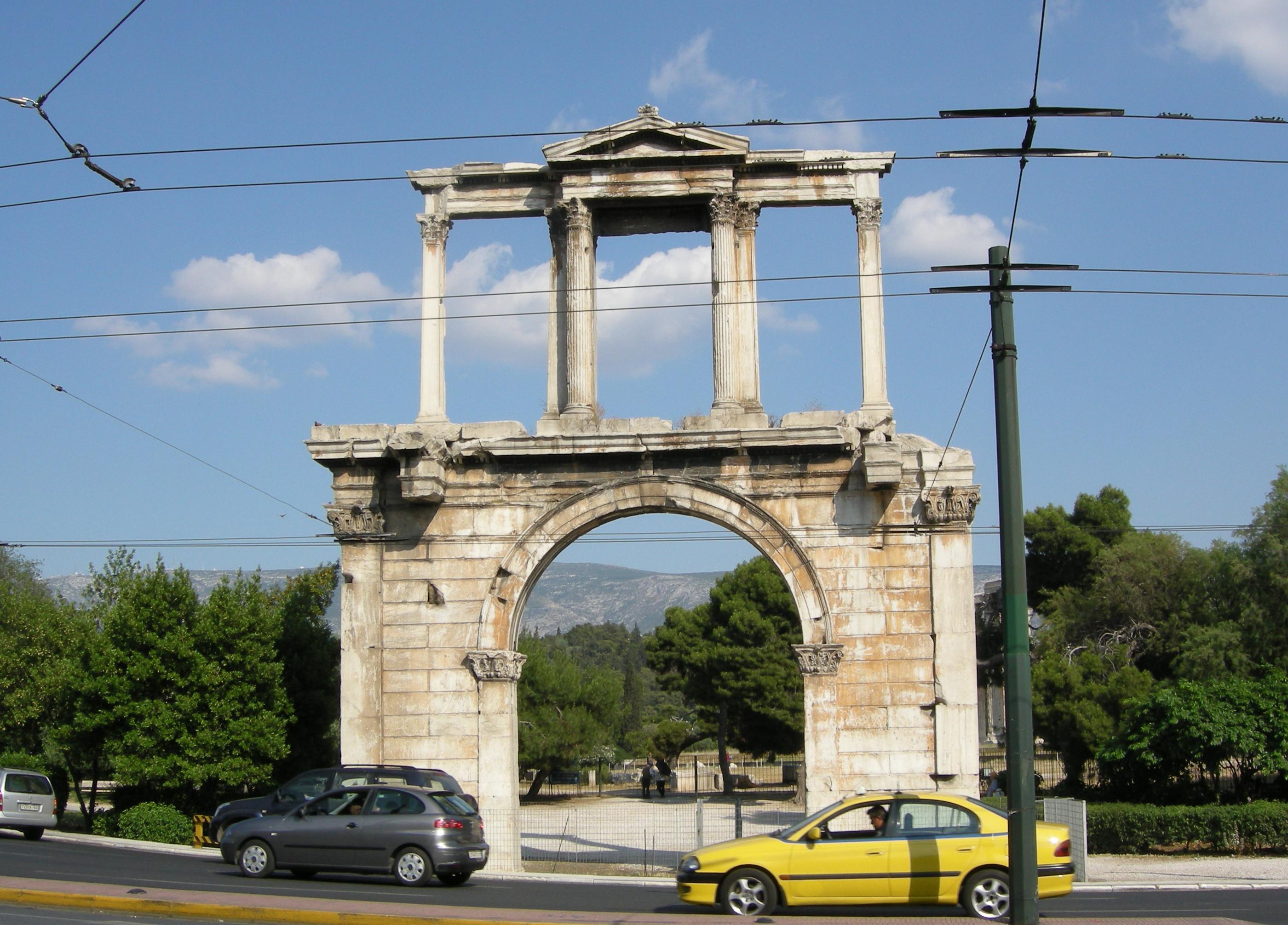 File:Hadrian Arch (Athens) 01.JPG