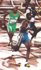 Avard Moncur Bahamian sprinter