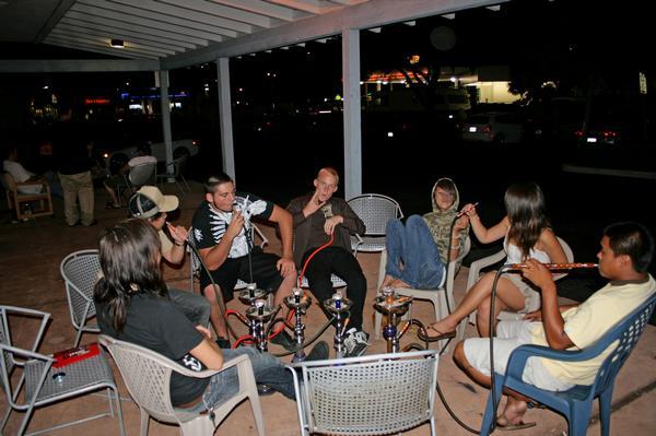 File:Hookah Nights at Bulldogs Hookah Lounge in Huntington Beach