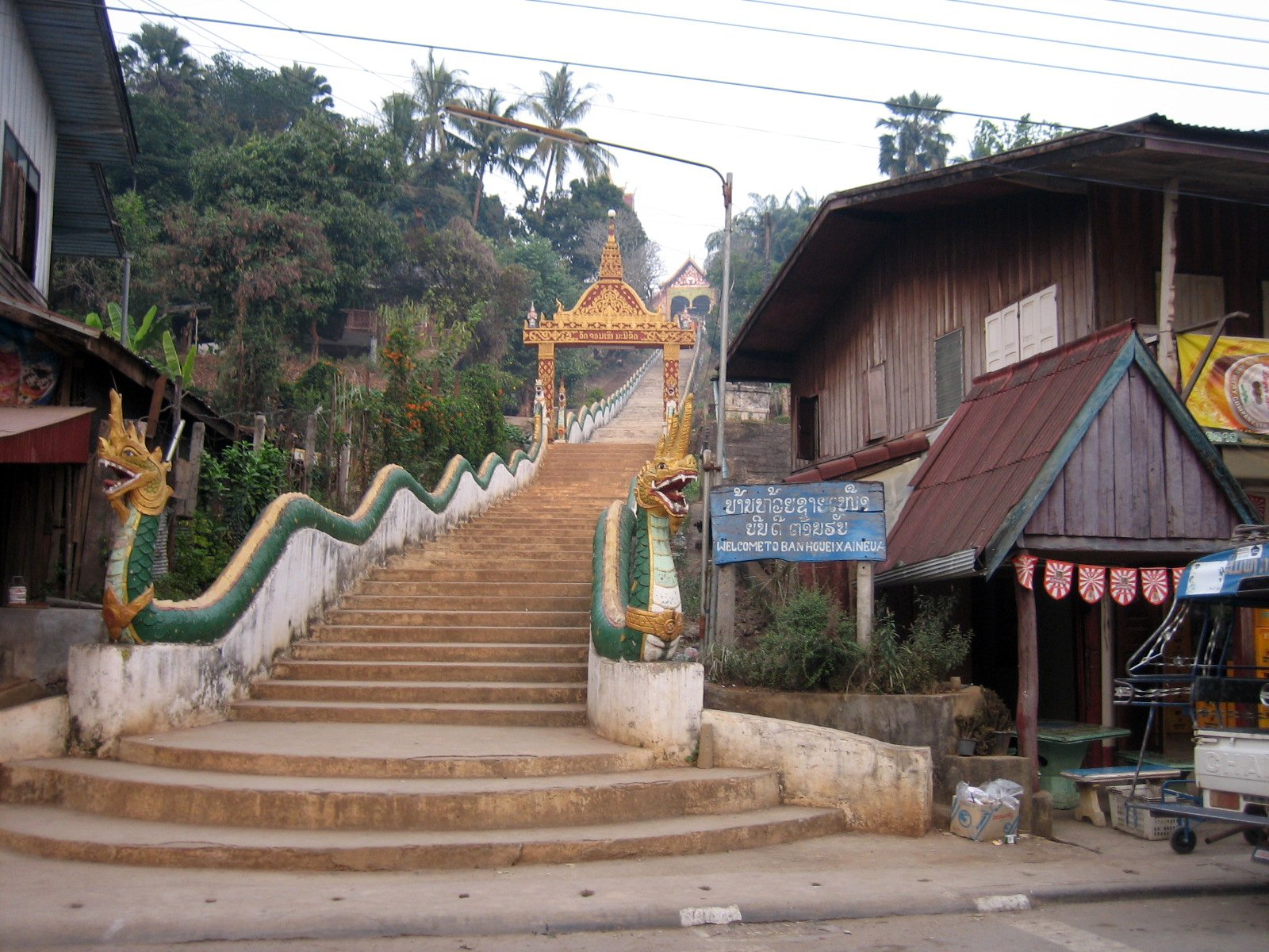 Houayxay Laos  city photos : Houayxay Wat, Houaxuay, Bokeo Wikimedia Commons