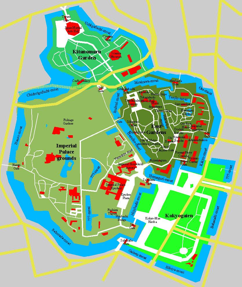 palace tokyo map png