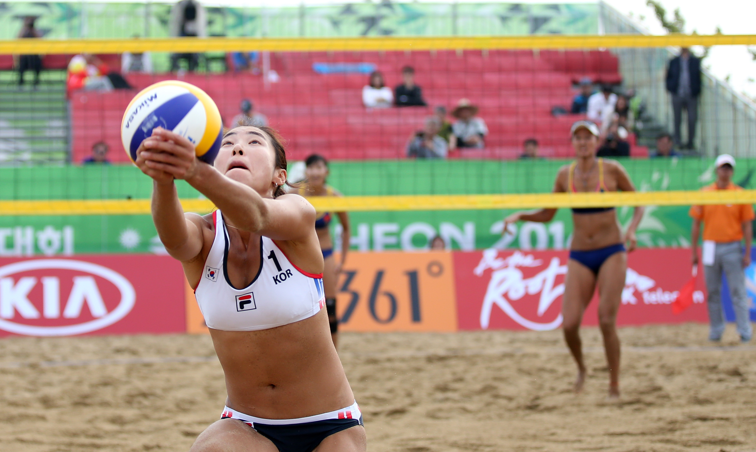 beach volleyball free game: