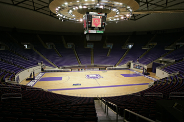 Inside the Dee Events Center,Weber State University