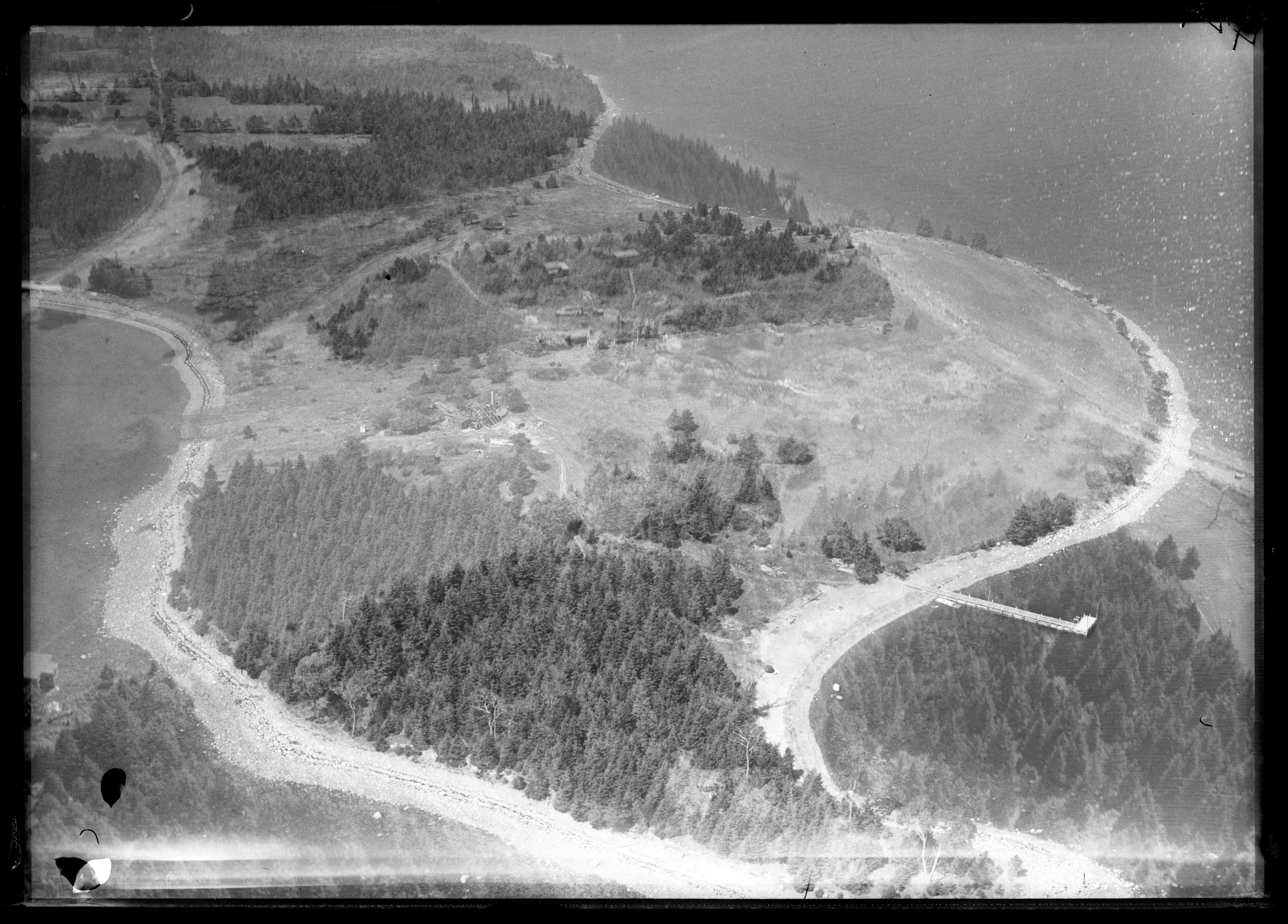 Oak Island Satellite Tunnels