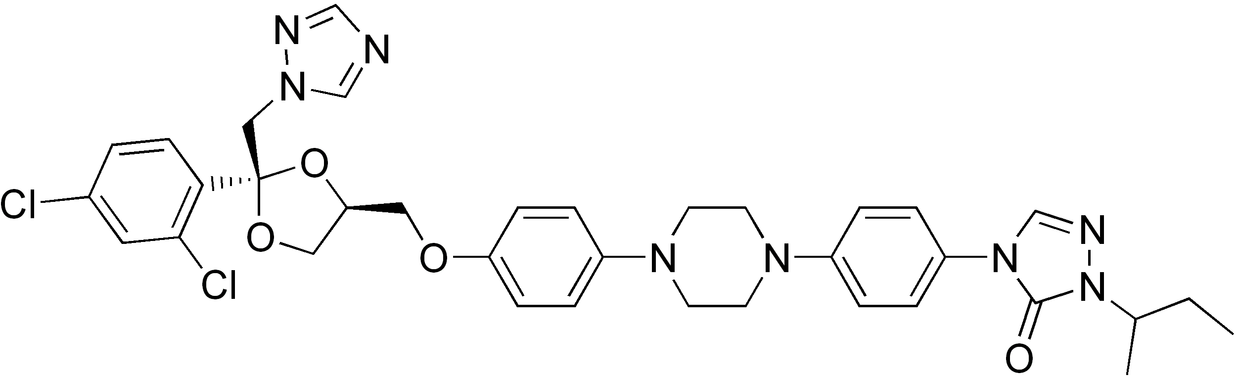 Depiction of Itraconazol