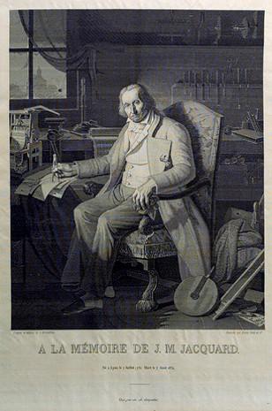 Jacquard Joseph Marie woven silk