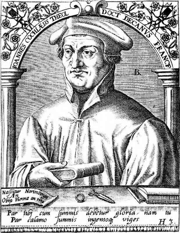 Johann Cochlaeus.