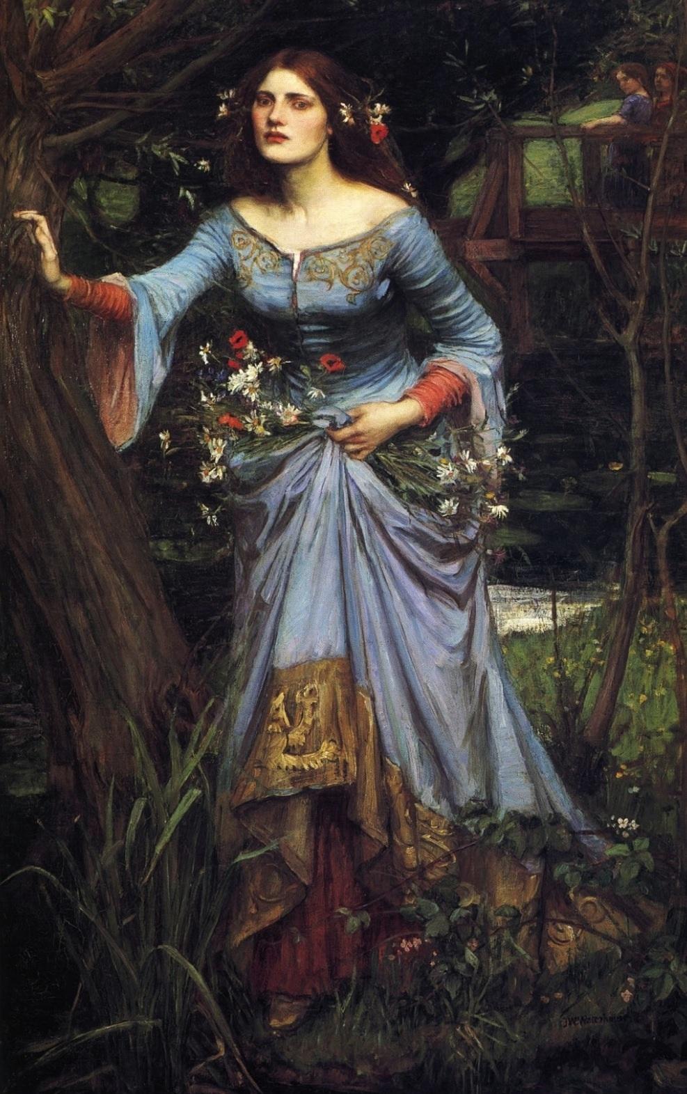 File:John William Waterhouse - Ophelia, 1894.jpg ...  File:John Willi...
