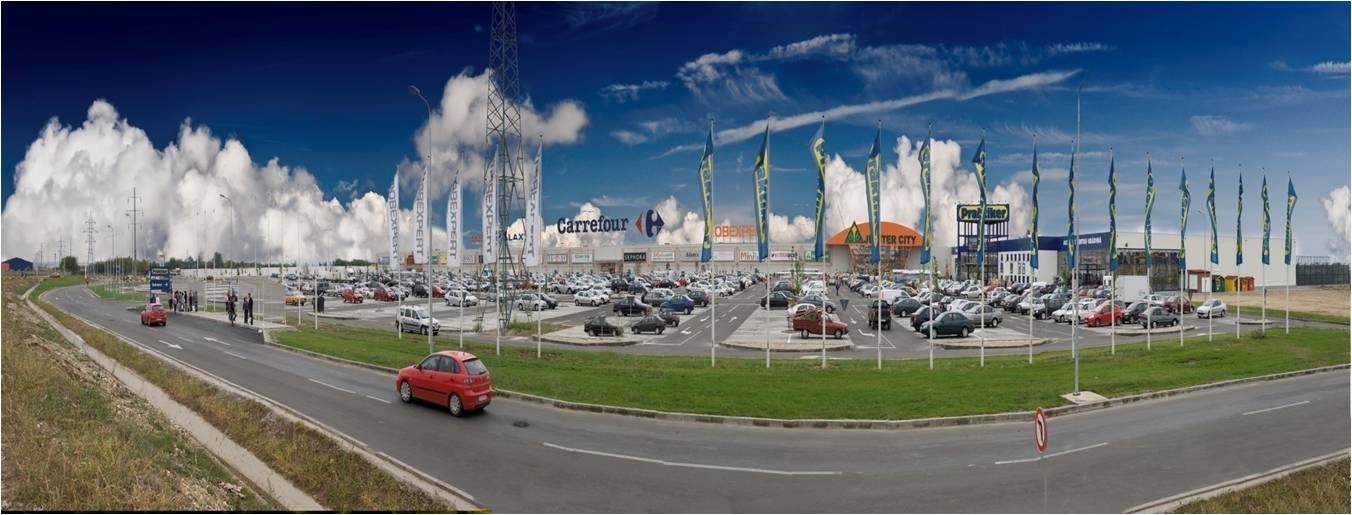 Jupiter City Commercial Center Pitesti Outside General View Cloud Wikipedia