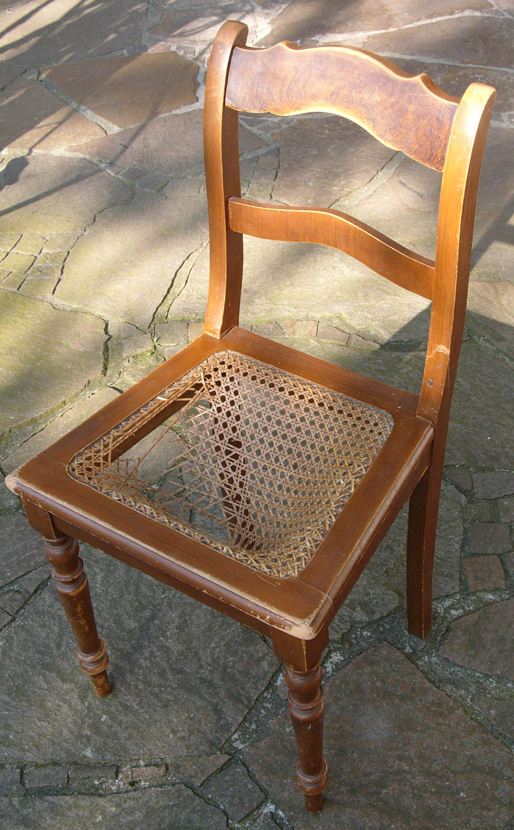 Pin old broken chair on pinterest
