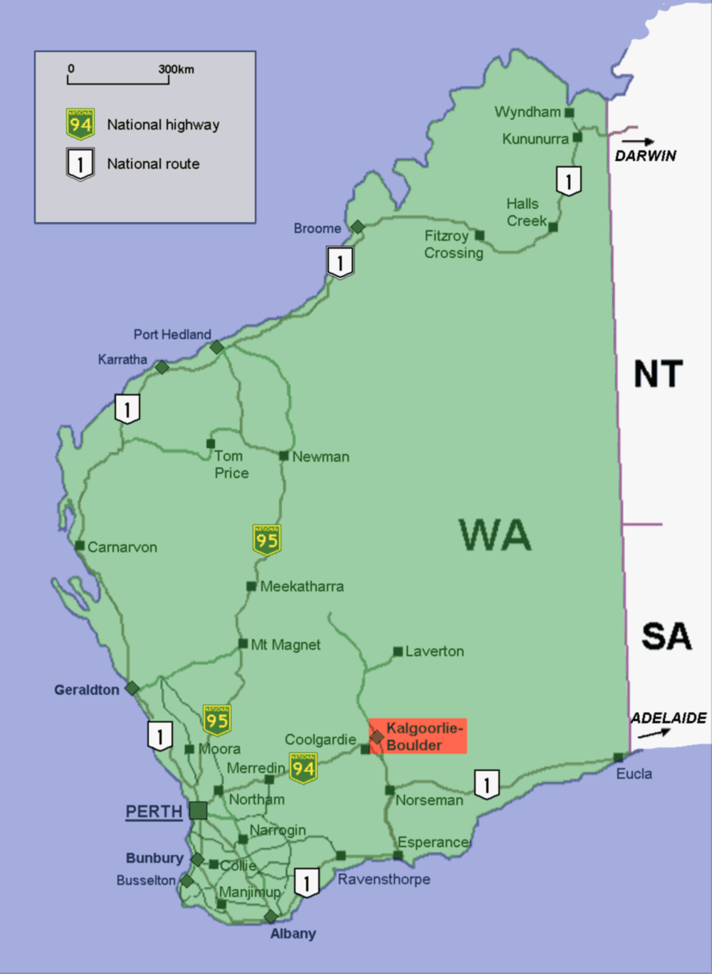 Australia Map Location.File Kalgoorlie Location Map In Western Australia Png Wikimedia