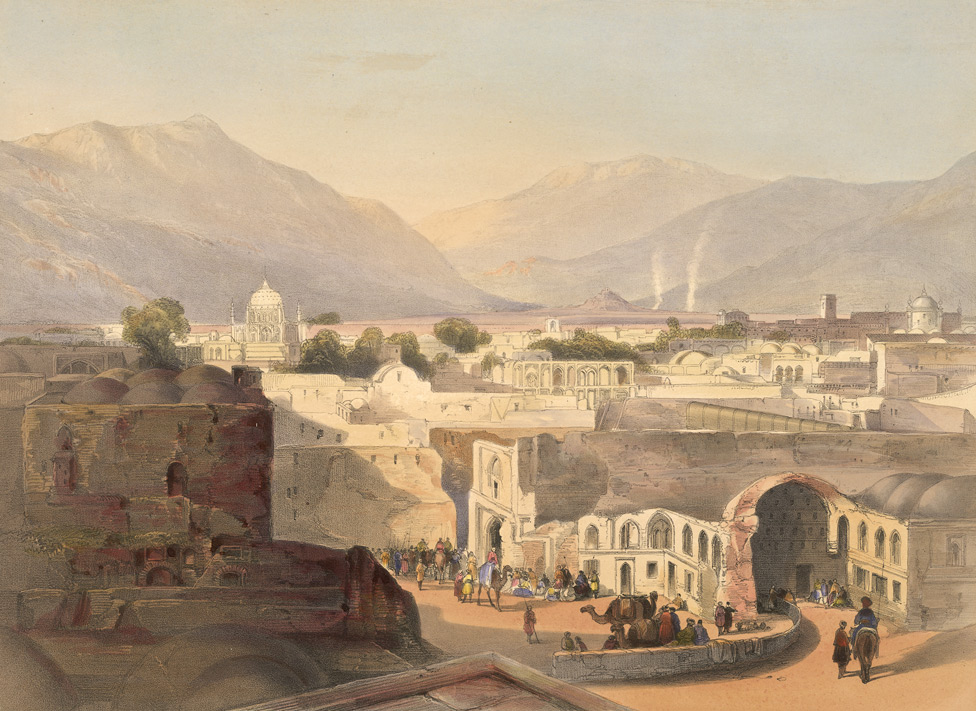 File Kandahar City In December 1841 Jpg Wikipedia