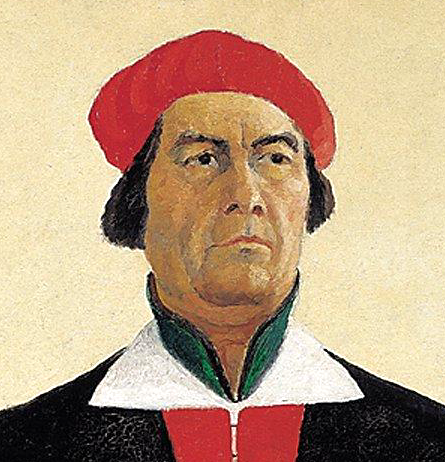 File:Kazimir Malevich, 1933, Self-portrait.png - Wikipedia