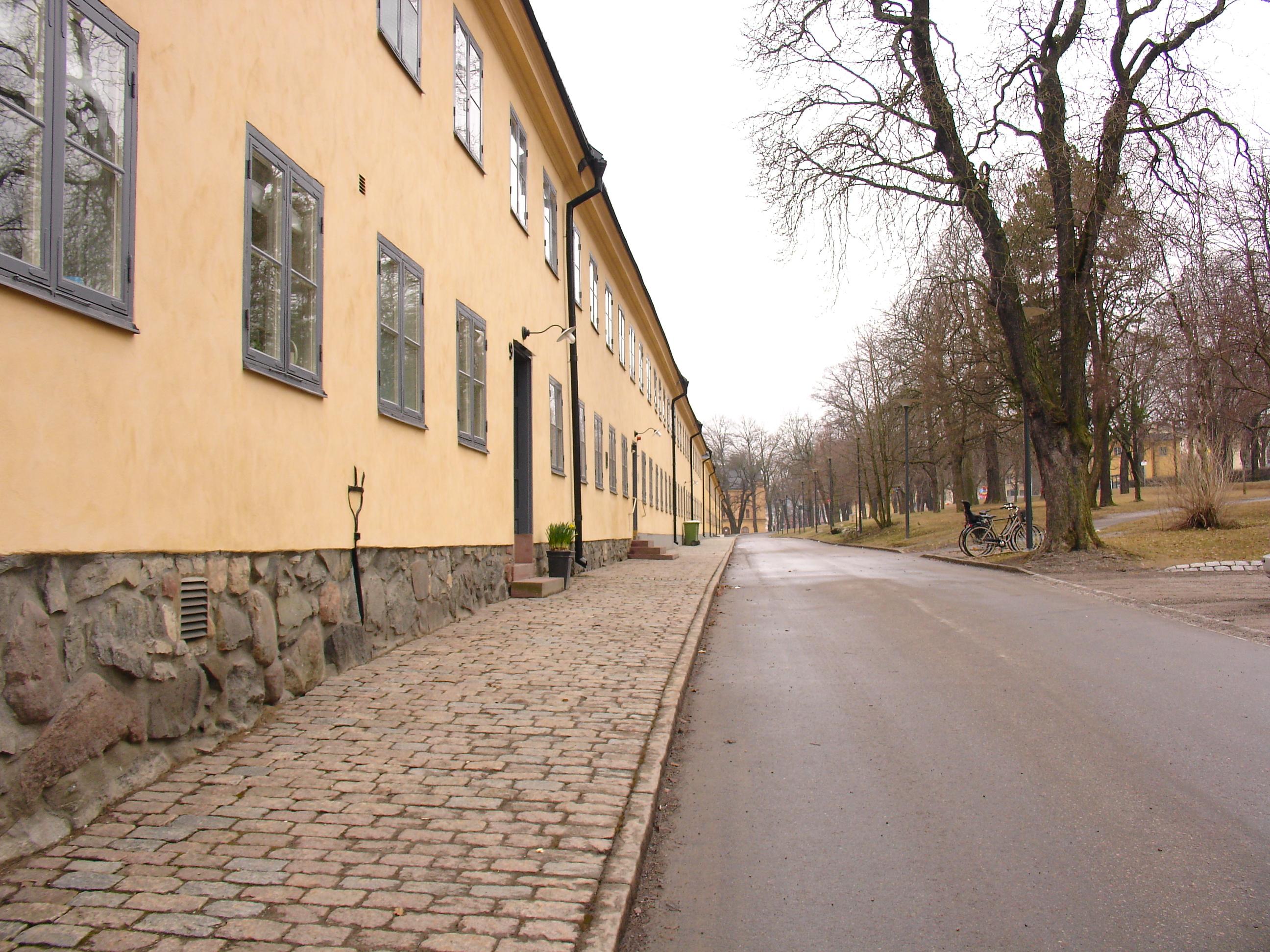 Långa Raden auf Skeppsholmen