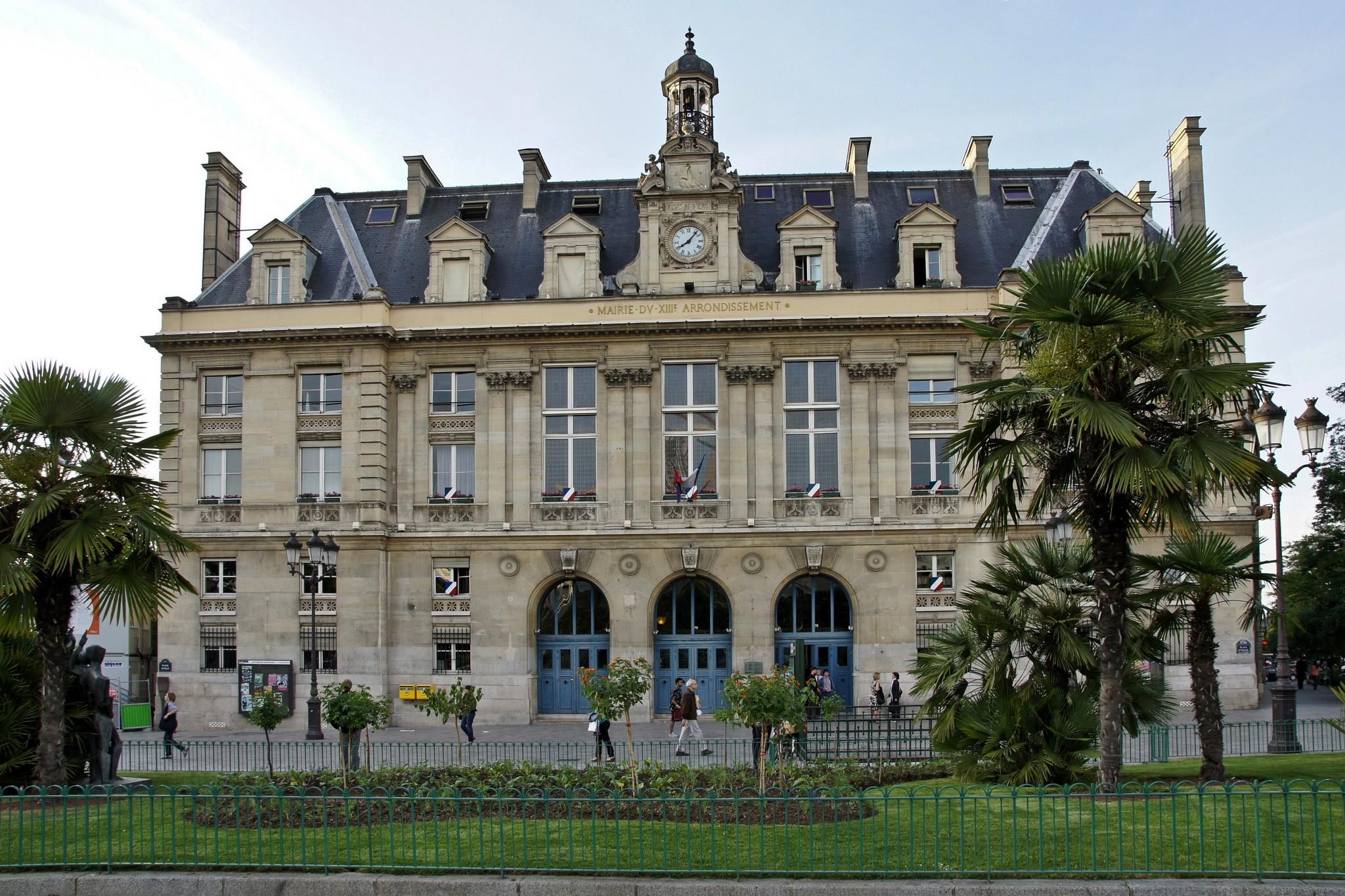 Mairie De Paris 13 : file la mairie du 13 i me arrondissement de wikimedia commons ~ Maxctalentgroup.com Avis de Voitures