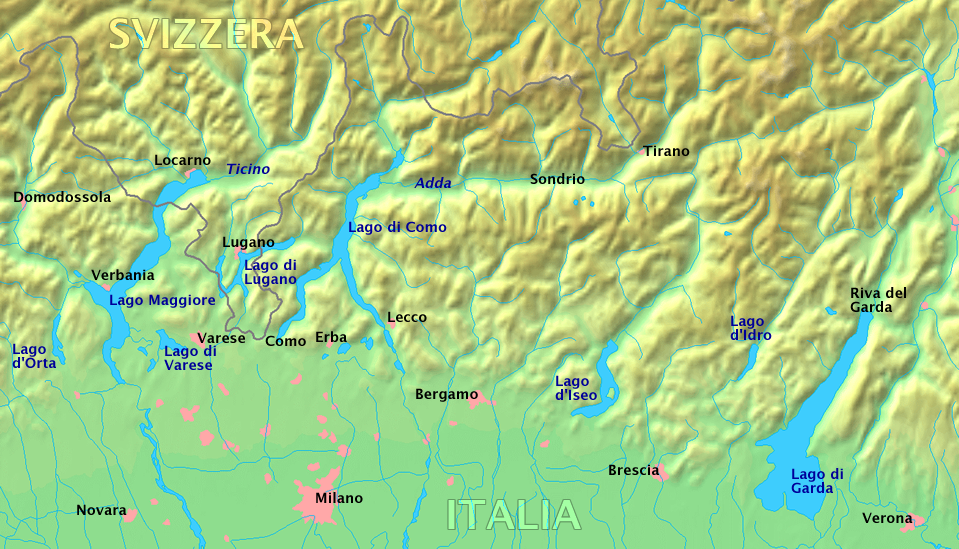 Laghi Ditalia Wikipedia