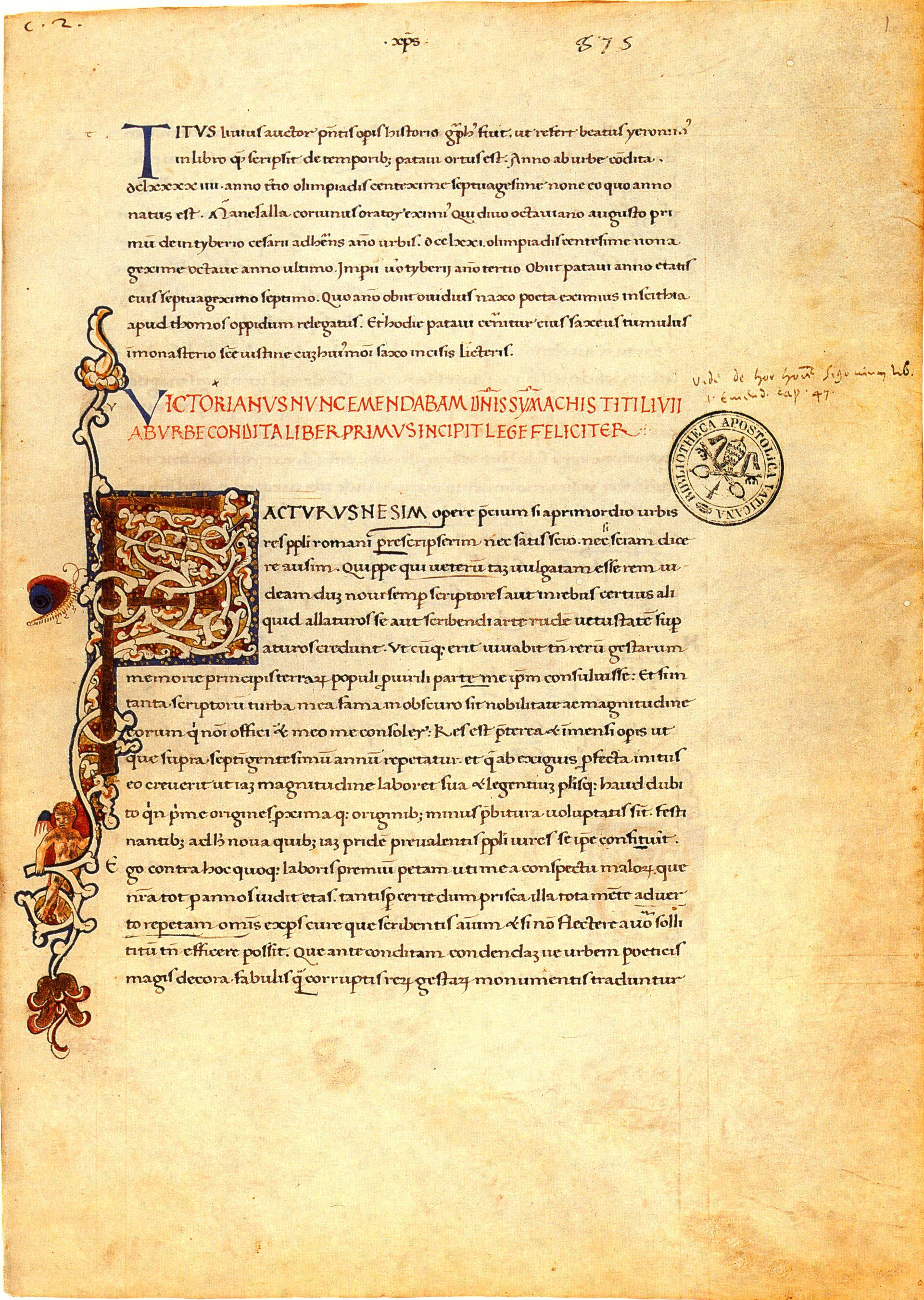 Livius Ab Urbe Condita übersetzung