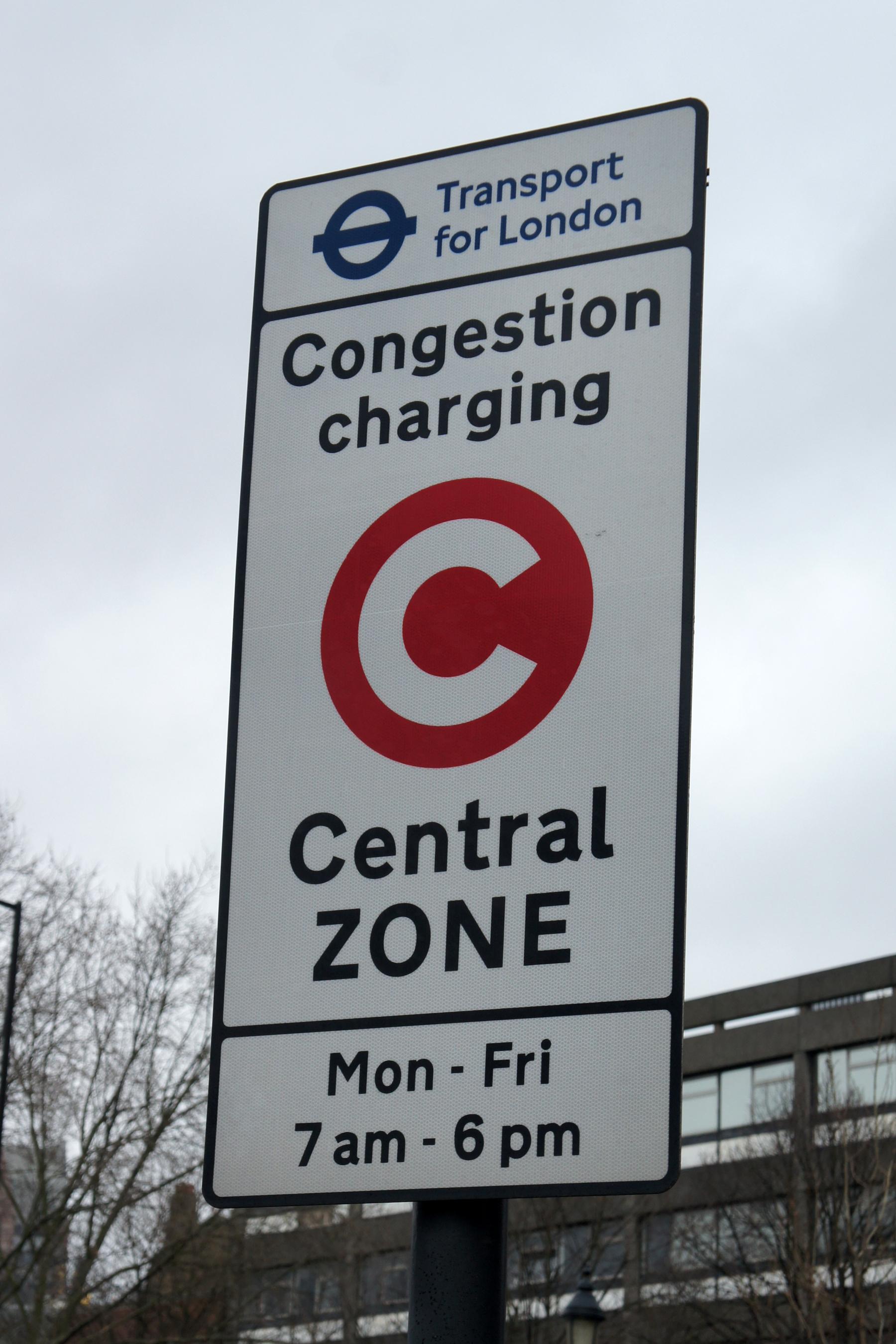 Congestion charge in Londra. Ce este si cand trebuie sa platesti. 1