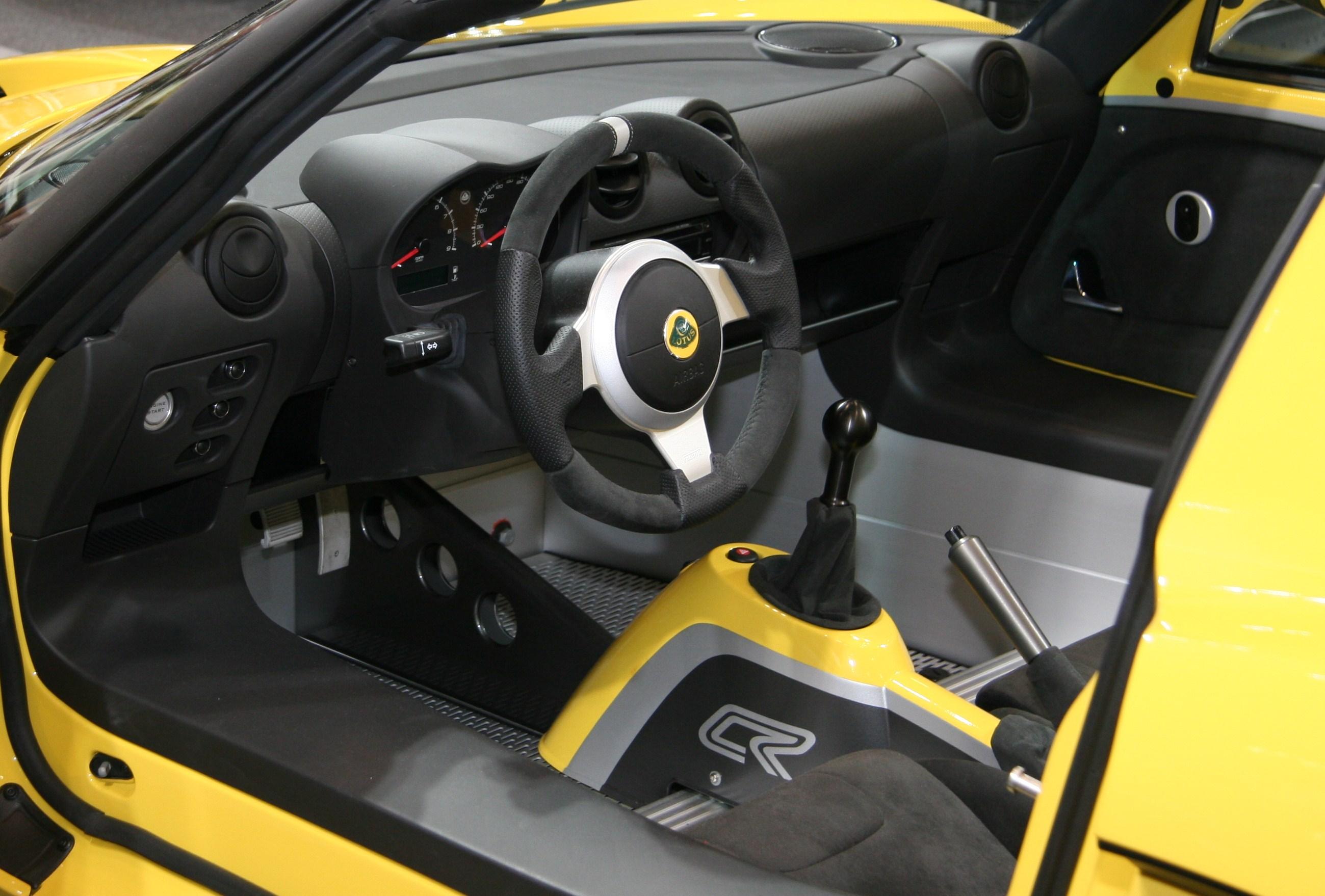 File:Lotus Elise Club Racer interior.jpg - Wikimedia Commons