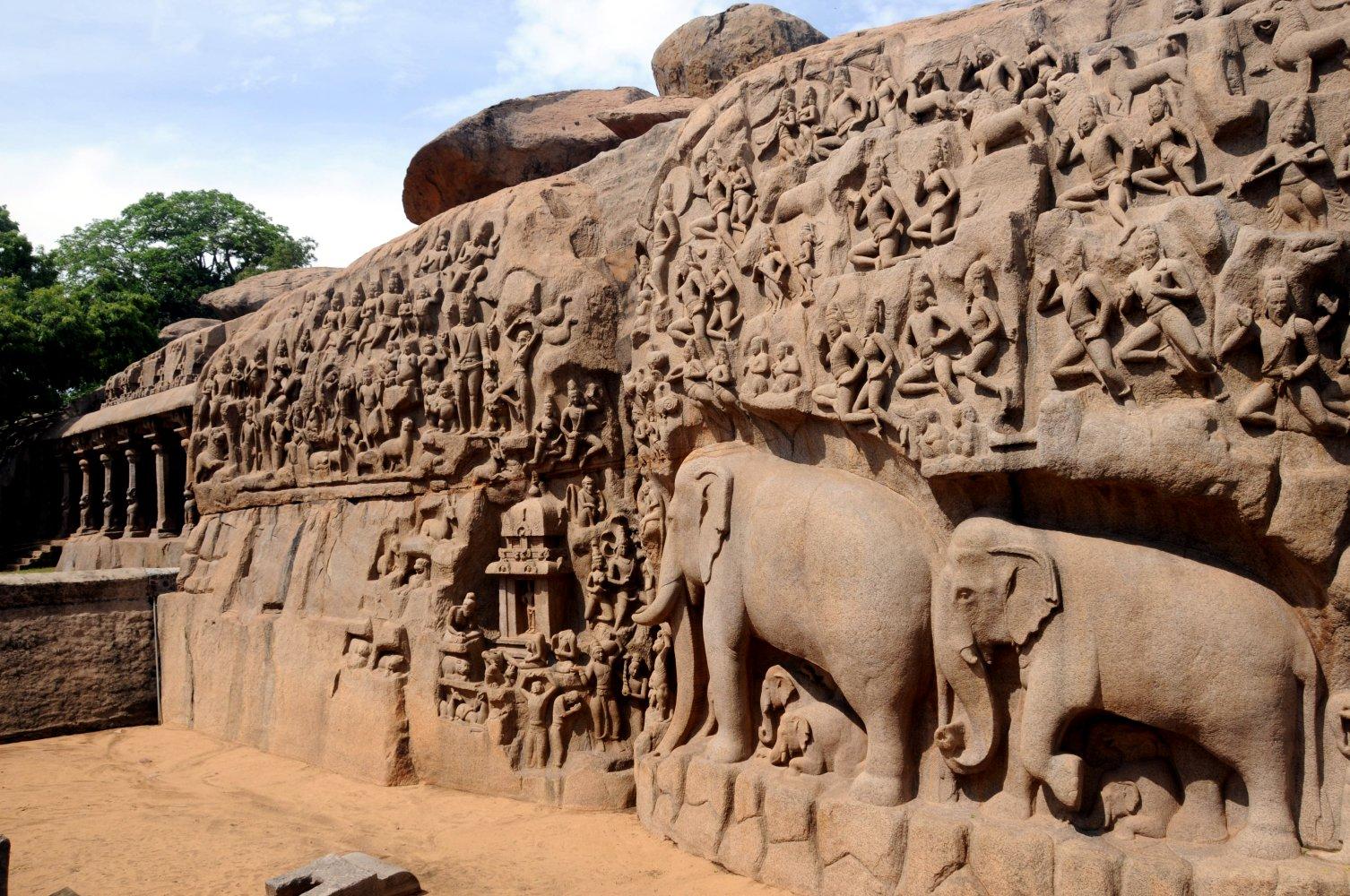 Pallava art and architecture , Wikipedia