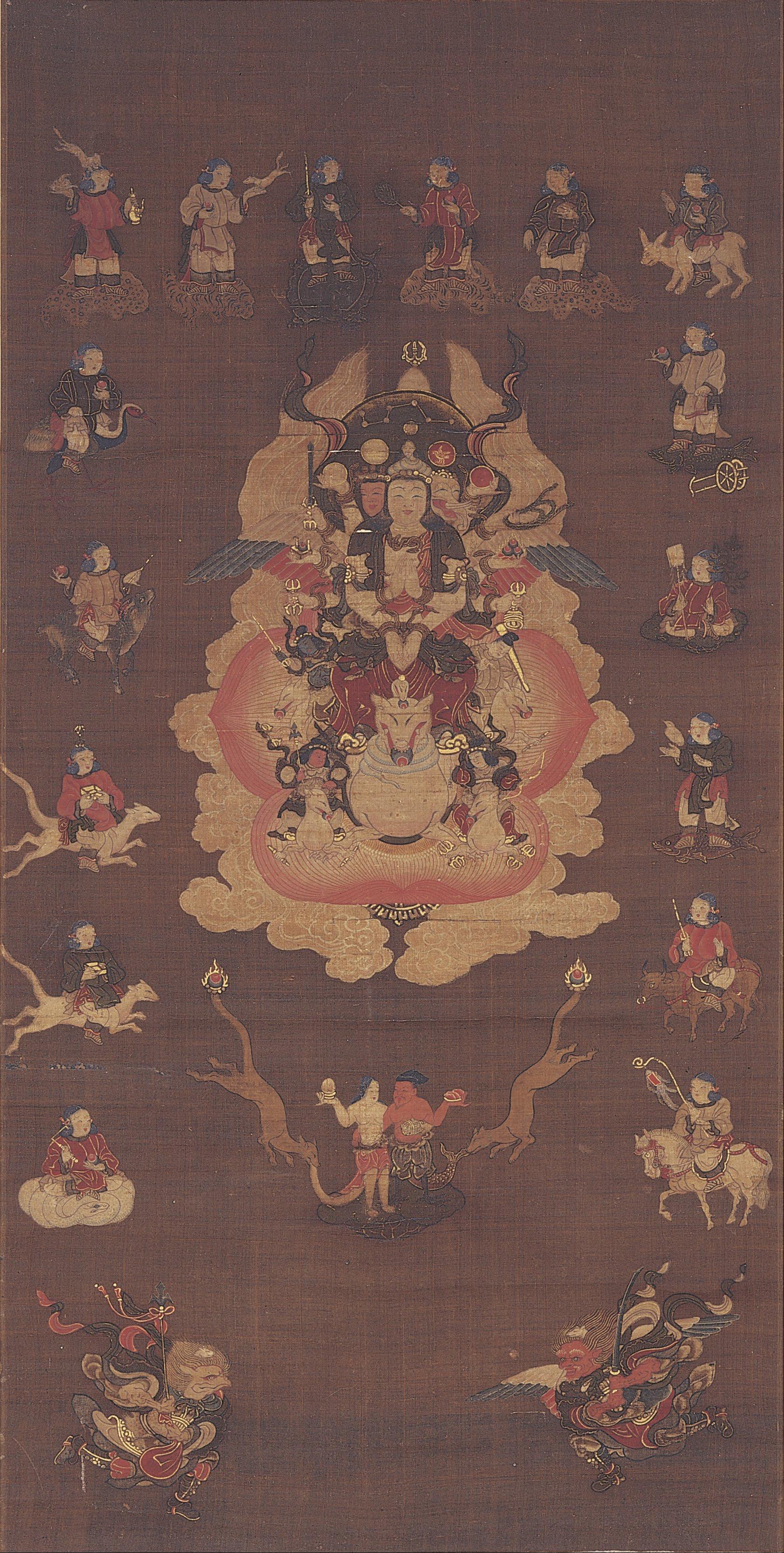 File:Mandala of Dakini-Ten<Ḍākiṇī> - Google Art Project.jpg ...