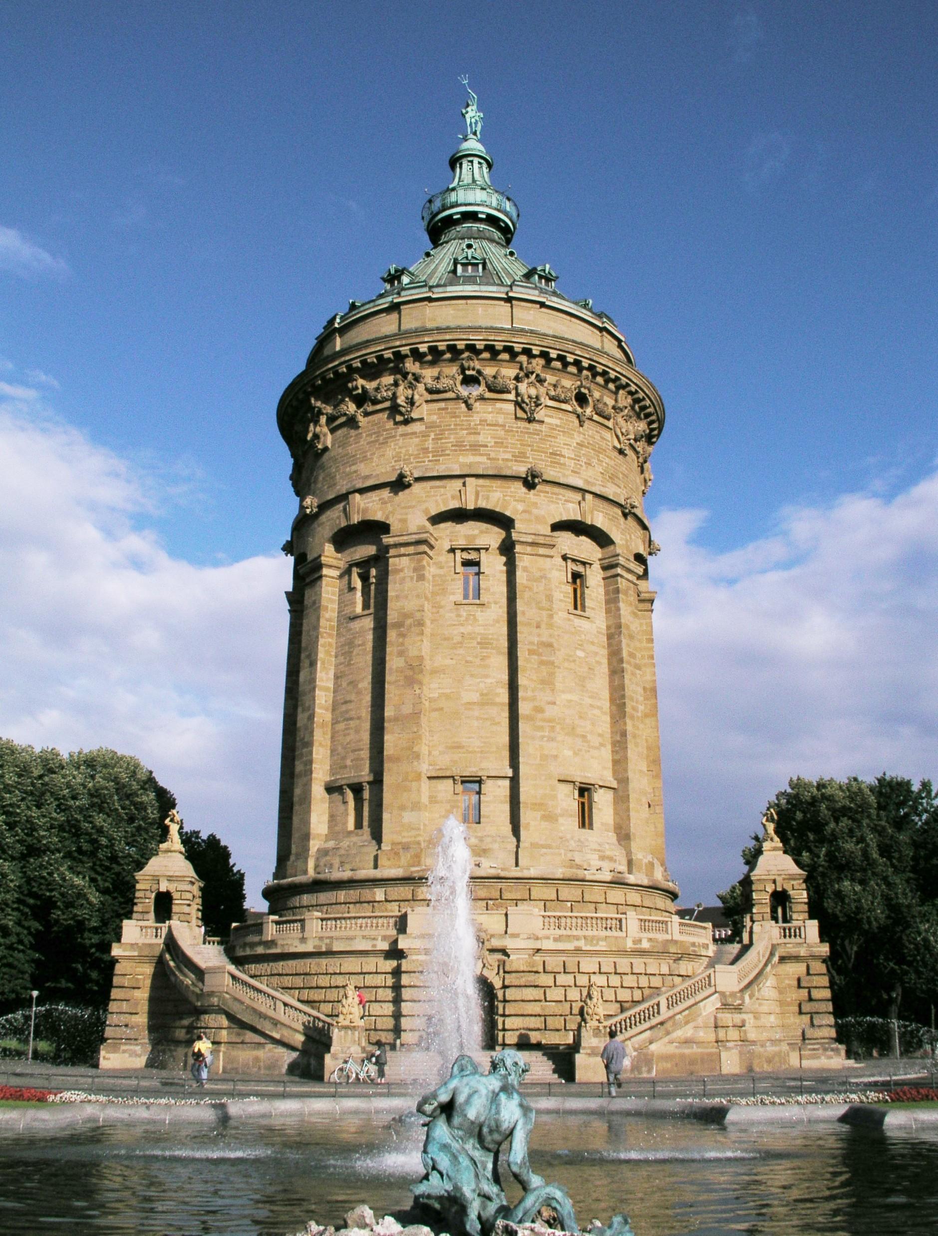 Unique Wasserturm Mannheim