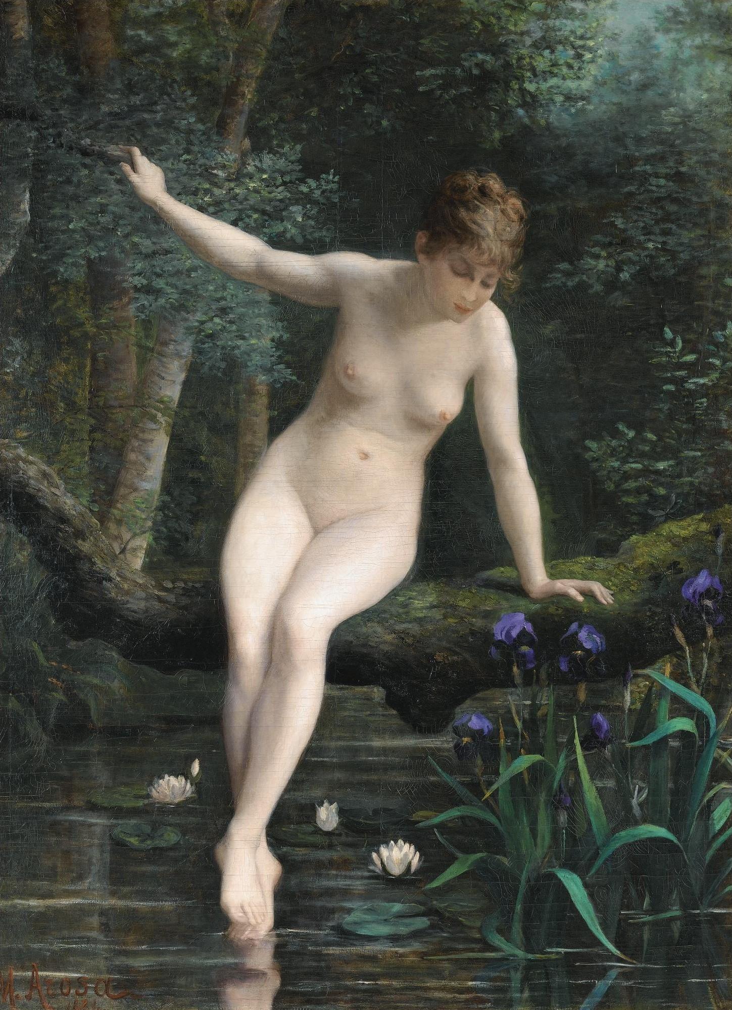 Marguerie Arosa Baigneuse