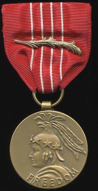 Medal of Freedom die Dudok van Heel kreeg