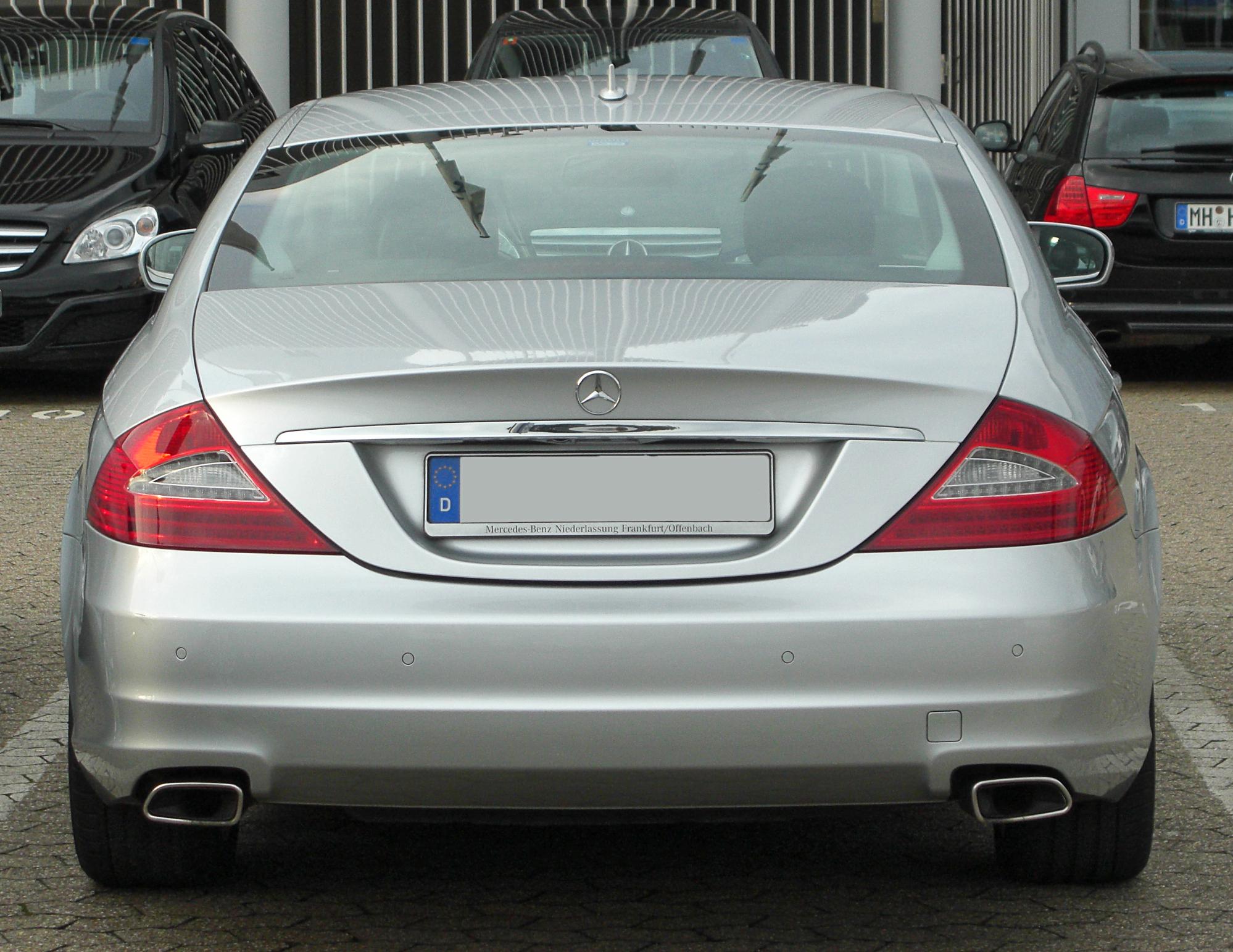 Mercedes Benz S Rear Bumper