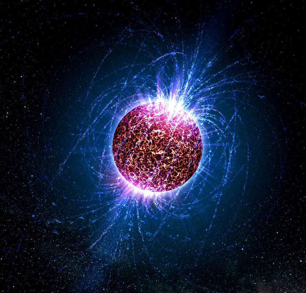 Illustration of a neutron star