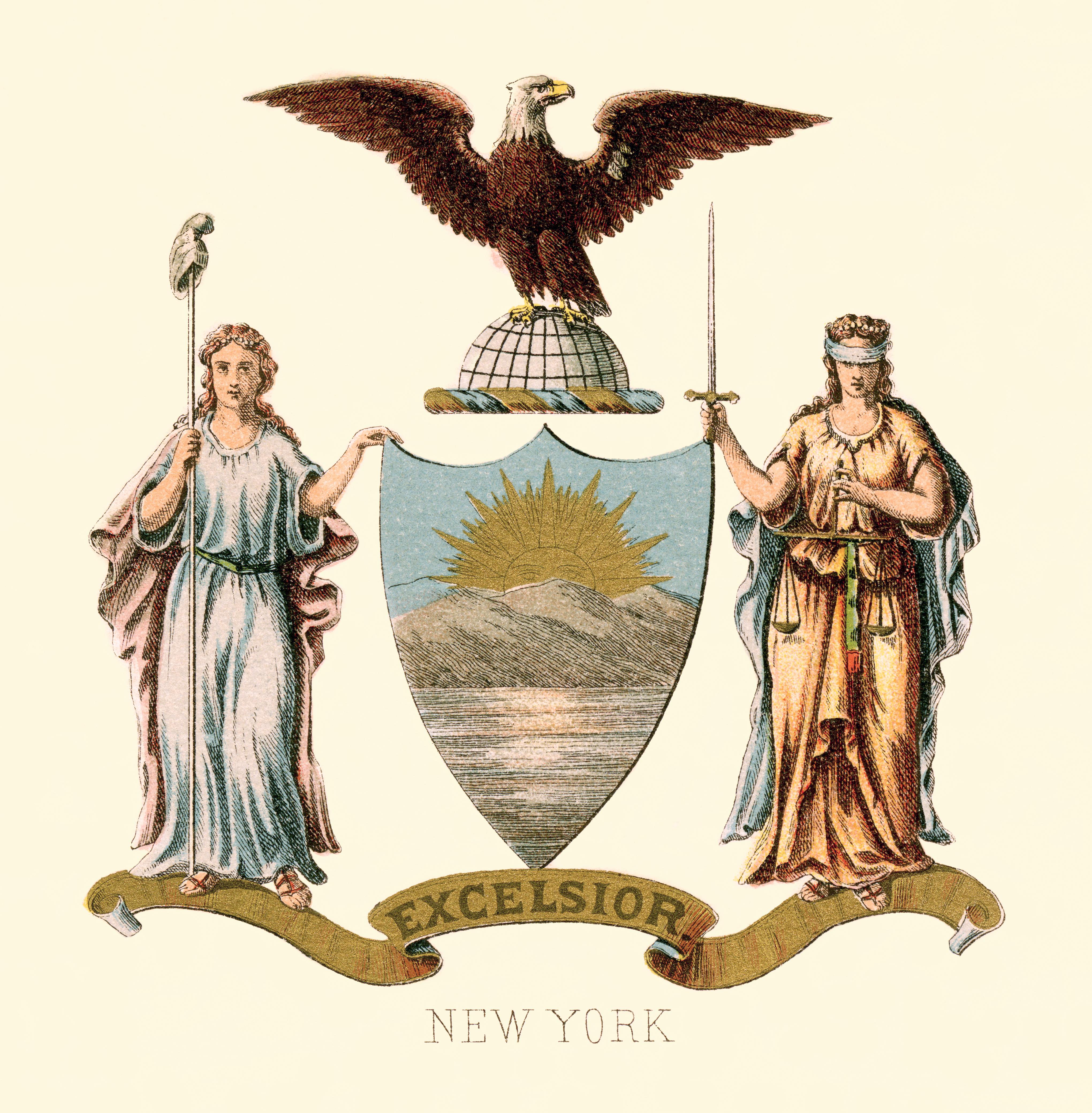 Seal Of New York Wikipedia